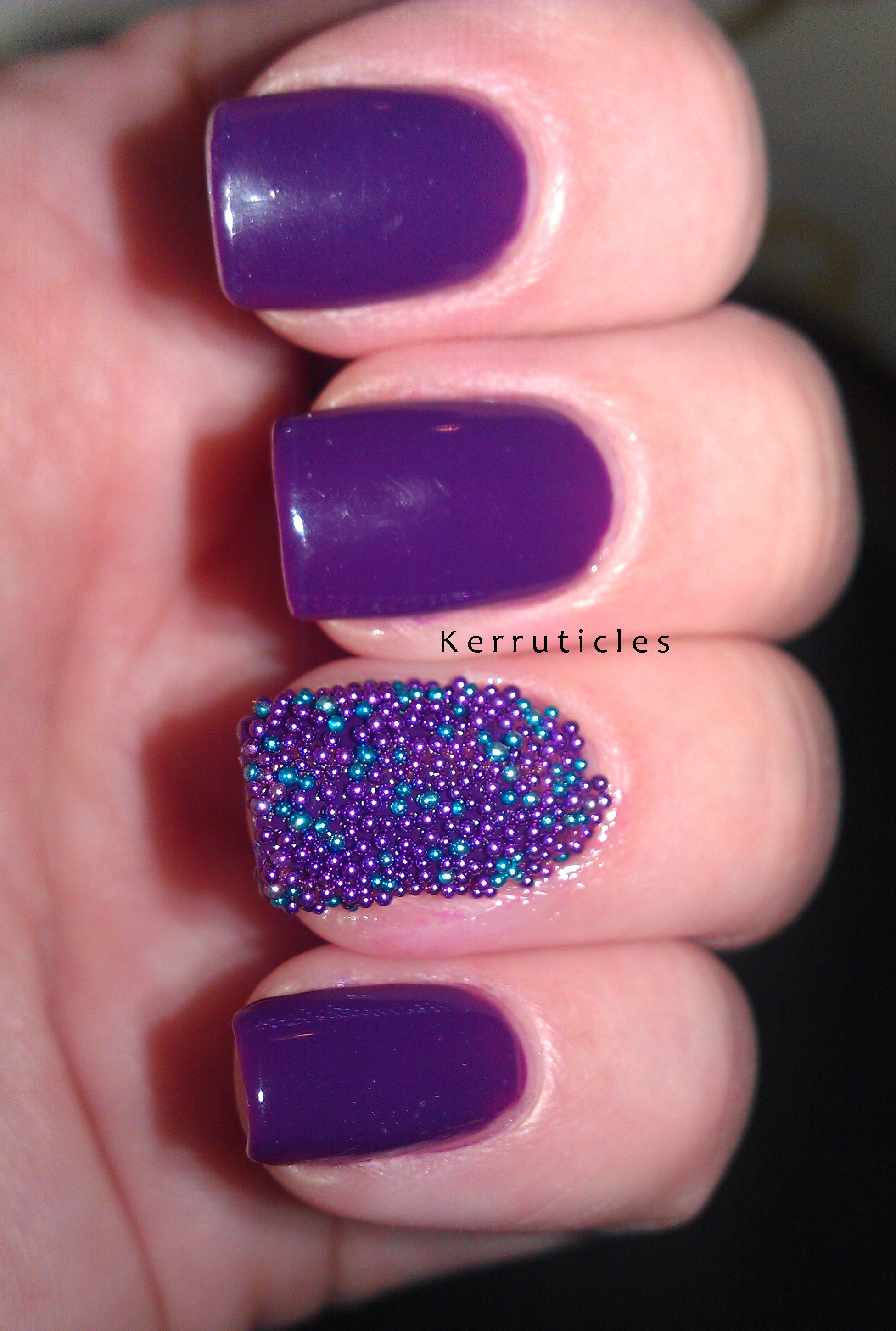 Caviar Nails: MUA Nail Constellation, Leo | Kerruticles