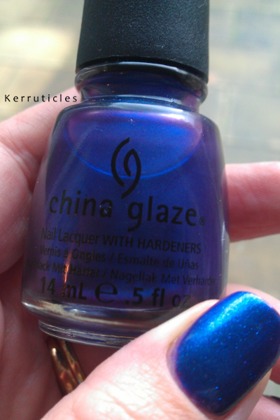 China Glaze Tempest bottle