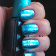 Barry M Superdrug Christmas Blue