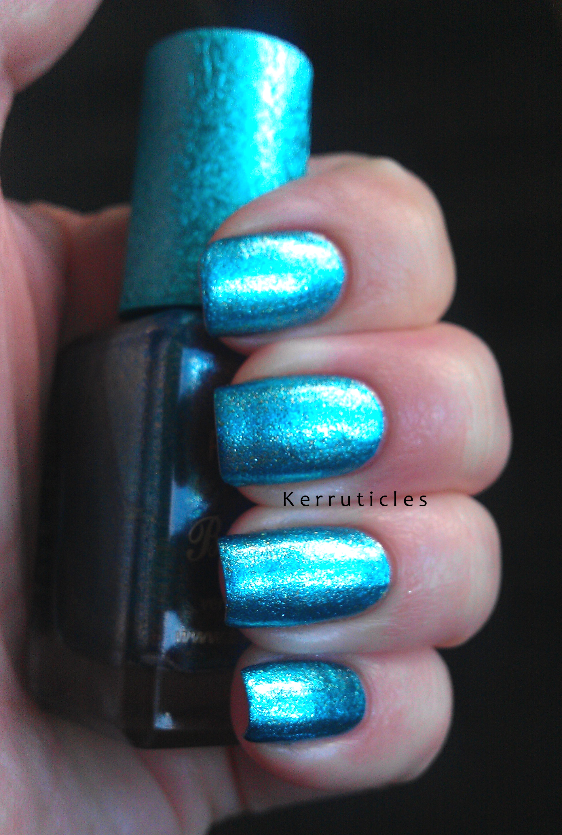 Barry M Limited Edition Christmas Blue from Superdrug | Kerruticles