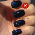 China Glaze Up All Night with H&M Blue Bliss