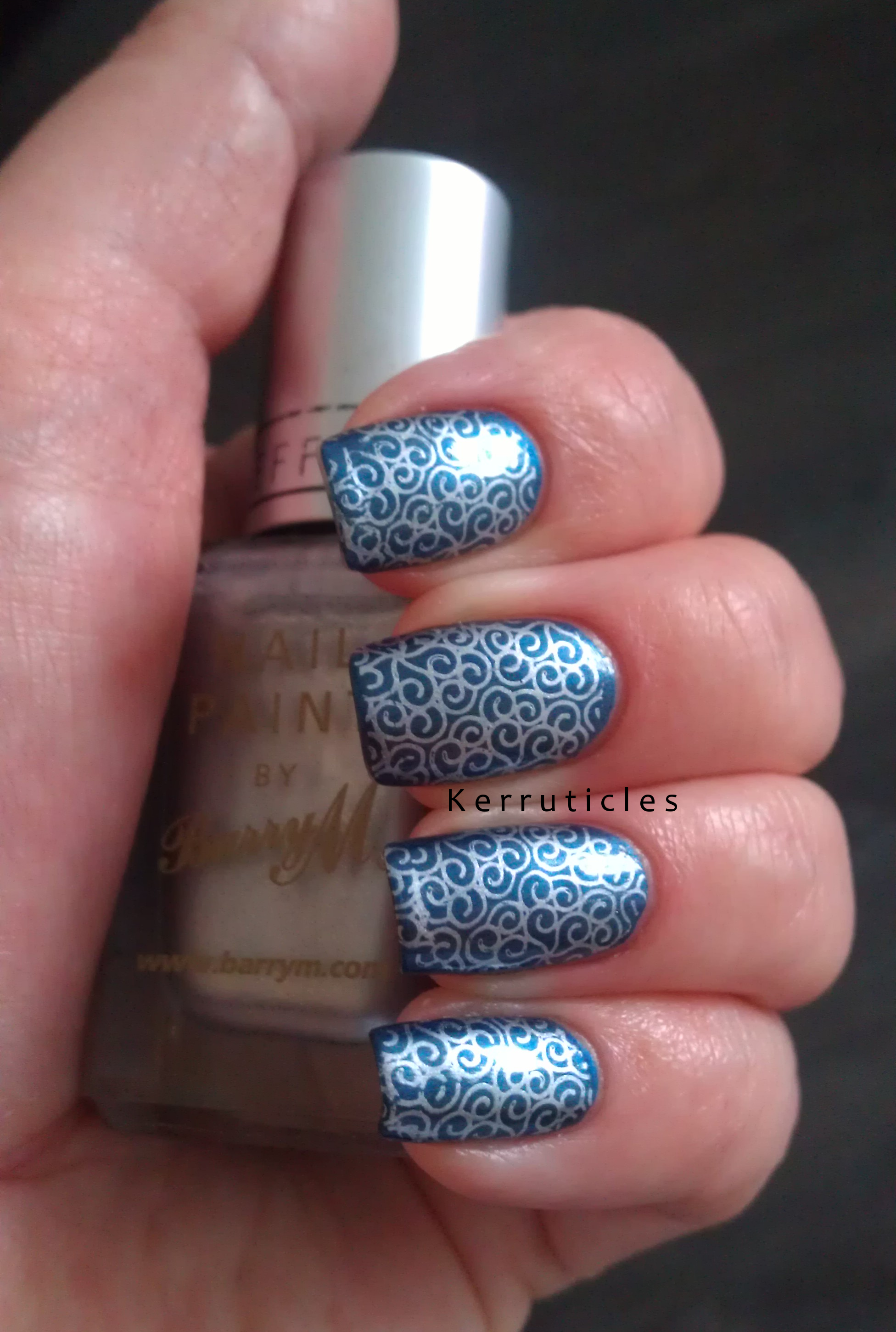 Barry m Magnetic Blue With