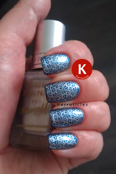 Magnetic Blue with BM-201 stamping