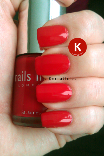 Nails Inc St James