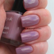 Beauty UK Smokey Lilac nails