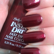 Sally Hansen Wined Up nails