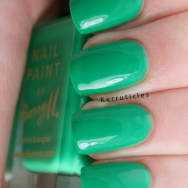 Barry M Spring Green nails