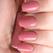 L'Oreal Boudoir Rose nails