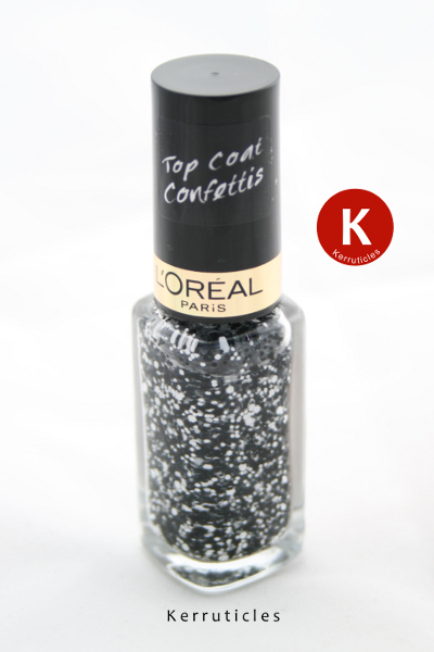 L'Oreal Top Coat Confettis bottle