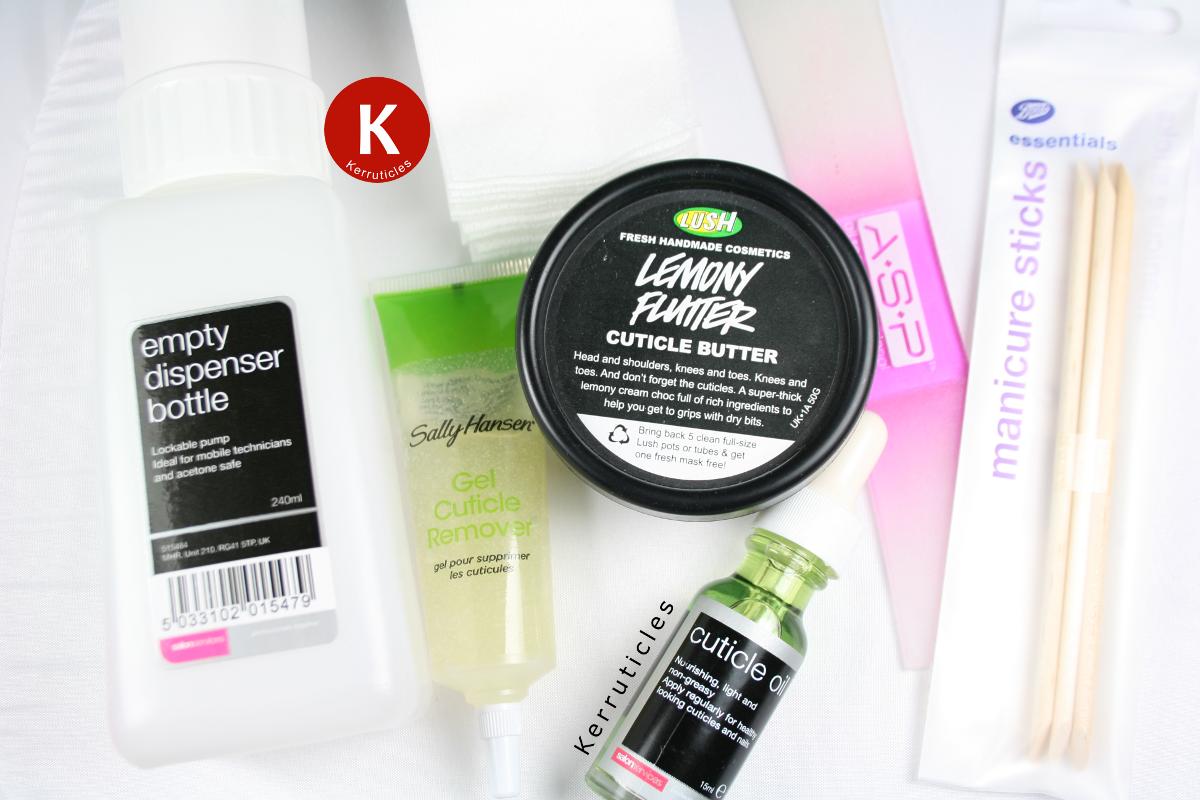 Ask a British nail blogger: my nail care routine   Kerruticles