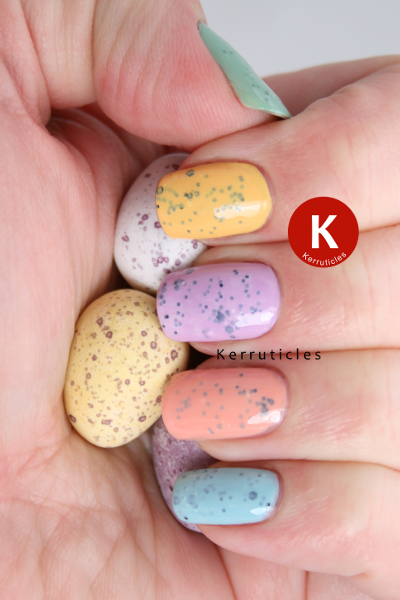 Pastel skittle mini egg Easter