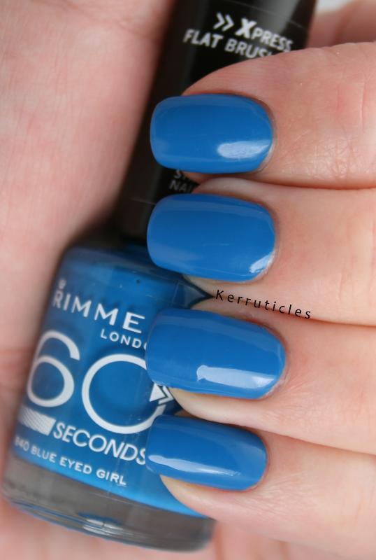 Rimmel Blue Eyed Girl | Kerruticles