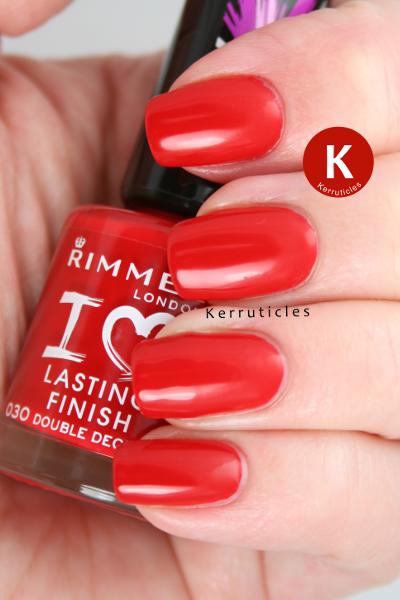 Rimmel Double Decker Red