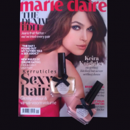 Free Ciate polish with May Marie Claire magazine nails new