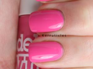 Models Own Pink Blush nails