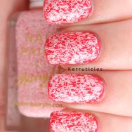 Barry M Confetti Nail Effects Marshmallow nails