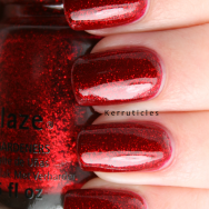 China Glaze Ruby Pumps nails