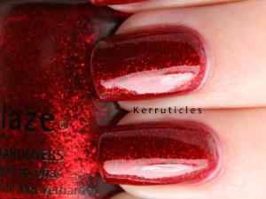 China Glaze Ruby Pumps nails