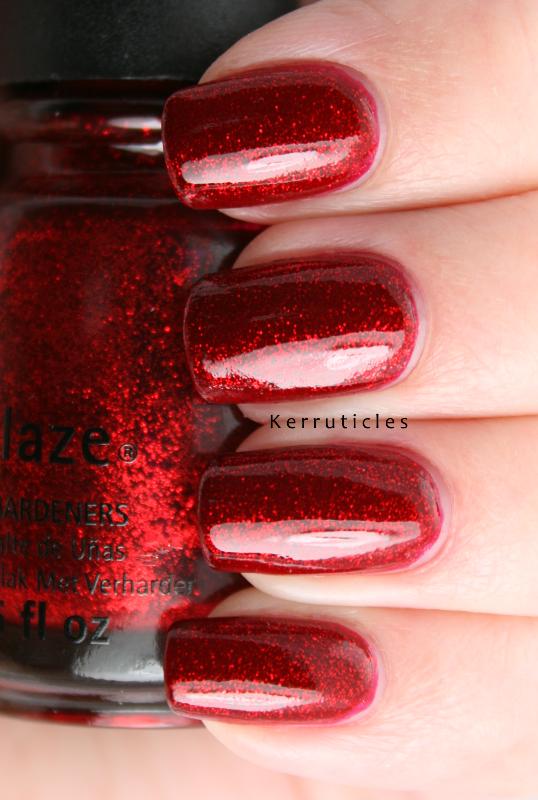 China Glaze Ruby Pumps Kerruticles
