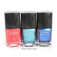 New Chanel L'Été Papillon Summer 2013 collection nails