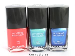 New Chanel L'Été Papillon Summer 2013 collection nails