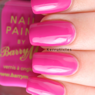 Barry M Fuchsia nails