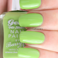Barry M Key Lime nails