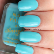 Barry M Turquoise nails