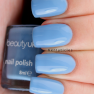 Beauty UK Blue Moon nails