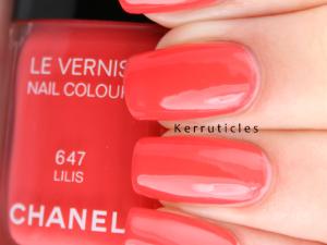 Chanel Lilis nails