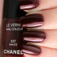 Chanel Malice nails