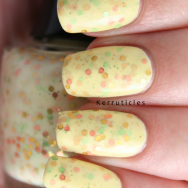 The Face Shop Lovely ME:EX Lemon Candy Yogurt nails