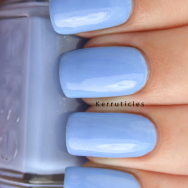 Essie Bikini So Teeny nails