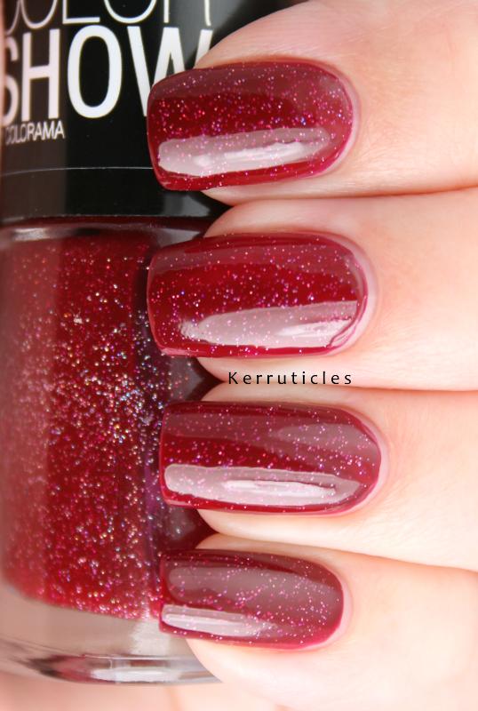 Maybelline Wine Shimmer | Kerruticles