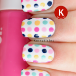 Multicoloured dots