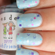 Colores de Carol Best Polish Friend Forever nails