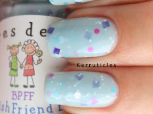 Colores de Carol Best Polish Friend Forever nails