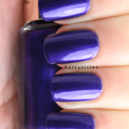 L'Oreal Divine Indigo nails