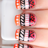 Tribal nails #33dc