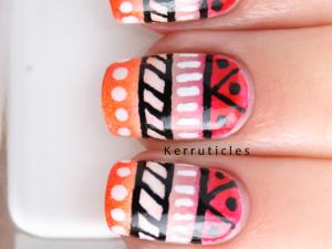 Tribal nails #33dc