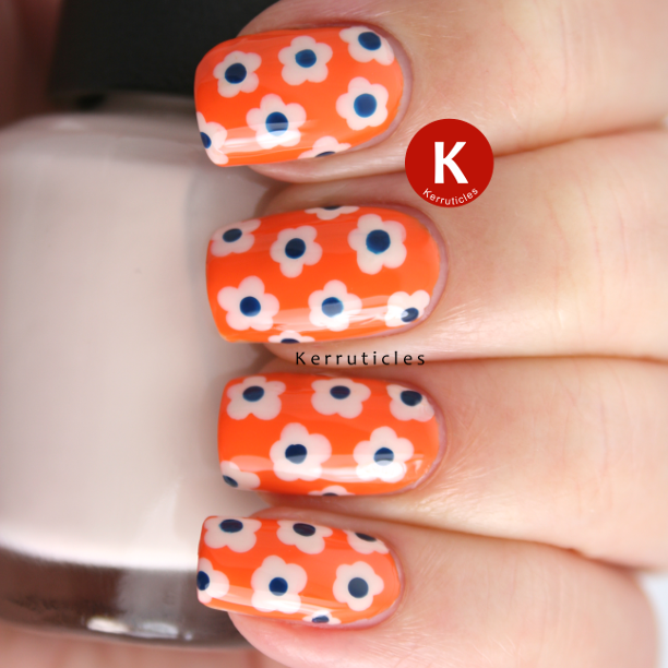 Barry M Mango dotted flowers
