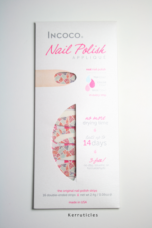 Incoco nail strips (Park Guell)