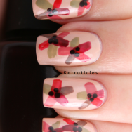 MrCandiipants flowers nails