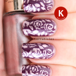 L'Oreal Wild Purple stamped Sweet Amethyst MoYou Pro XL 10