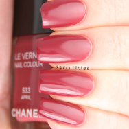 Chanel April nails