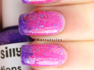 Polish Me Silly Grape Expectations thermal nails