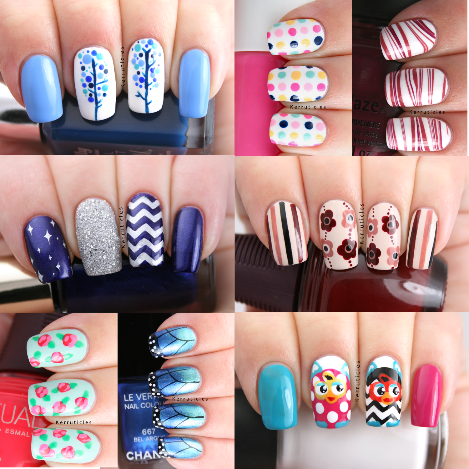 My 20 Favourite Nail Art Manicures Of 2013 Kerruticles