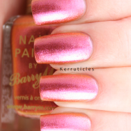 Barry M Mediterranean Aquarium duochrome pink nails