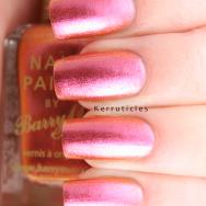 Barry M Mediterranean Aquarium duochrome pink nails