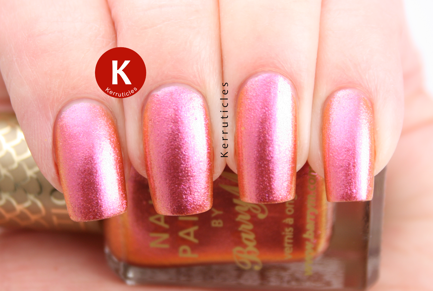 Barry M Mediterranean Aquarium duochrome pink